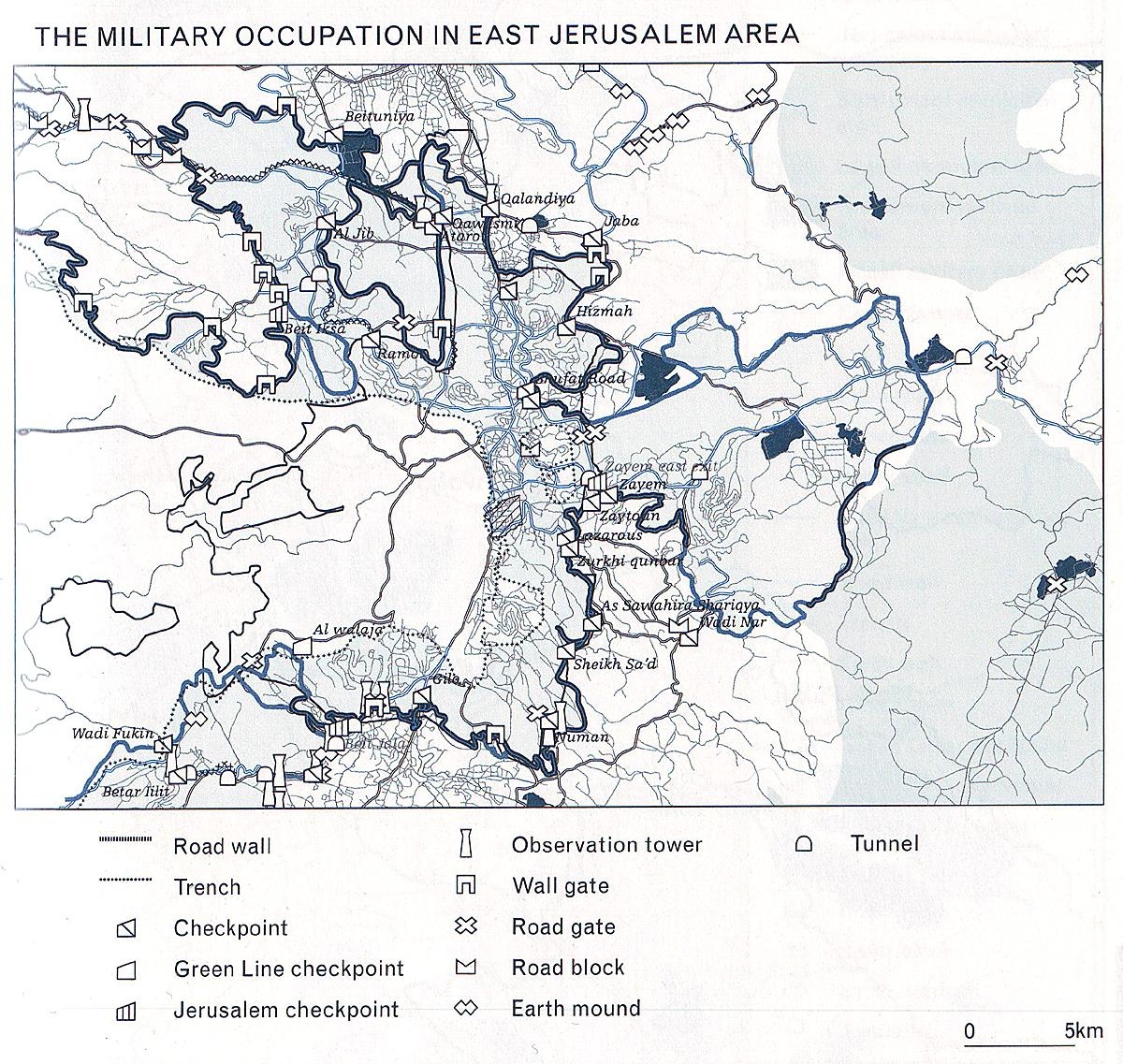 bezet gebied israel